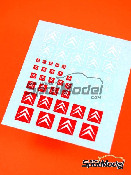 Citroën | Logotipos en escala1/24 fabricado por Virages (ref.VIR-299) image