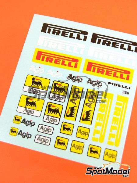 Pirelli Agip | Logotipos en escala1/20 fabricado por Virages (ref.VIR-338) image