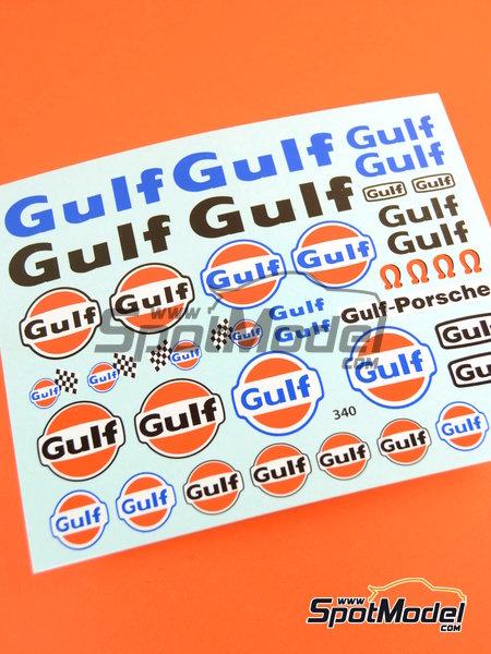 Gulf | Logotipos en escala1/24 fabricado por Virages (ref.VIR-340) image