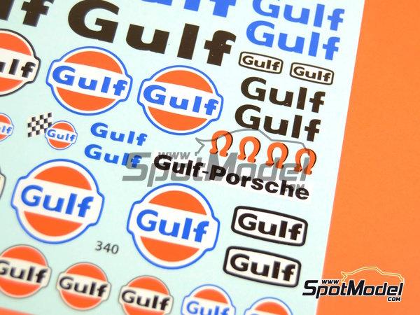 Image 2: Gulf | Logotipos en escala1/24 fabricado por Virages (ref.VIR-340)