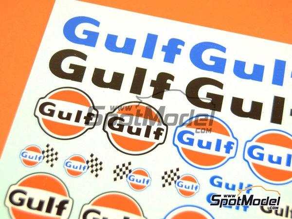 Image 4: Gulf | Logotipos en escala1/24 fabricado por Virages (ref.VIR-340)