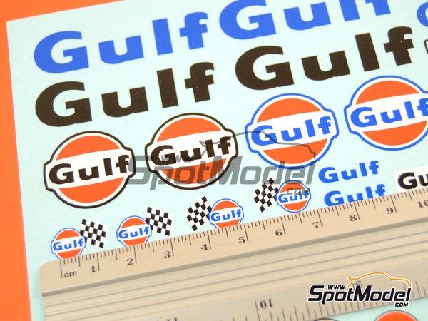Image 6: Gulf | Logotipos en escala1/24 fabricado por Virages (ref.VIR-340)