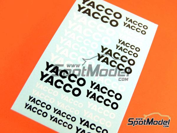 Image 1: Yacco | Logotipos en escala1/24 fabricado por Virages (ref.VIR-368)