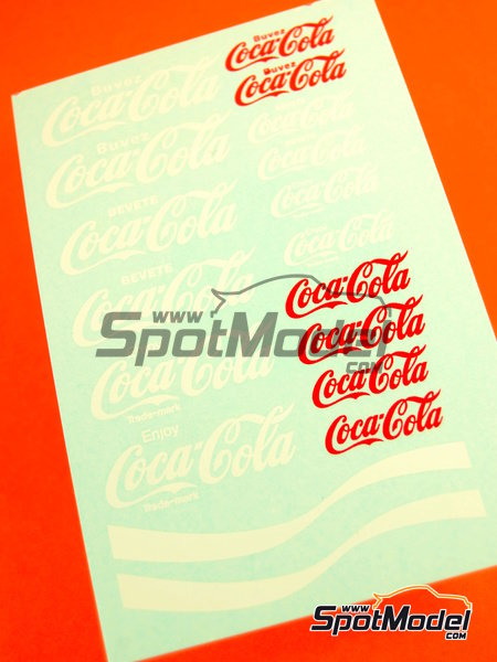 Coca Cola | Logotypes in 1/24 scale manufactured by Virages (ref.VIR-369) image