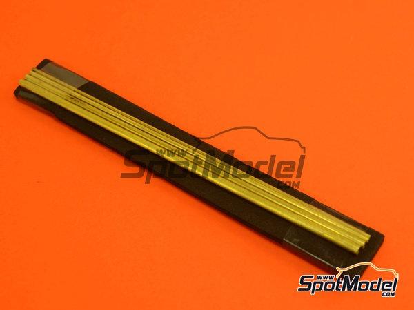 Image 1: Set de tubos de 1,3 mm, 1,8 mm, 2,3 mm y 2,8mm x 130mm   Material fabricado por Wave Corporation (ref.OP-587)