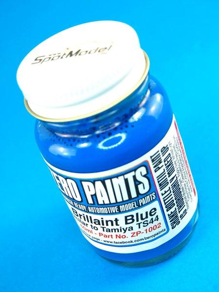 Azul brillante - Brilliant Blue Paint - Similar a TS-44 y Calsonic - 1 x 60ml | Pintura fabricado por Zero Paints (ref.ZP-1002) image
