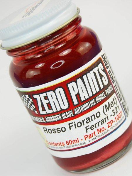 Rojo metalizado Ferrari Rosso Fiorano - Código: 321 - 1 x 60ml   Pintura fabricado por Zero Paints (ref.ZP-1007-321) image