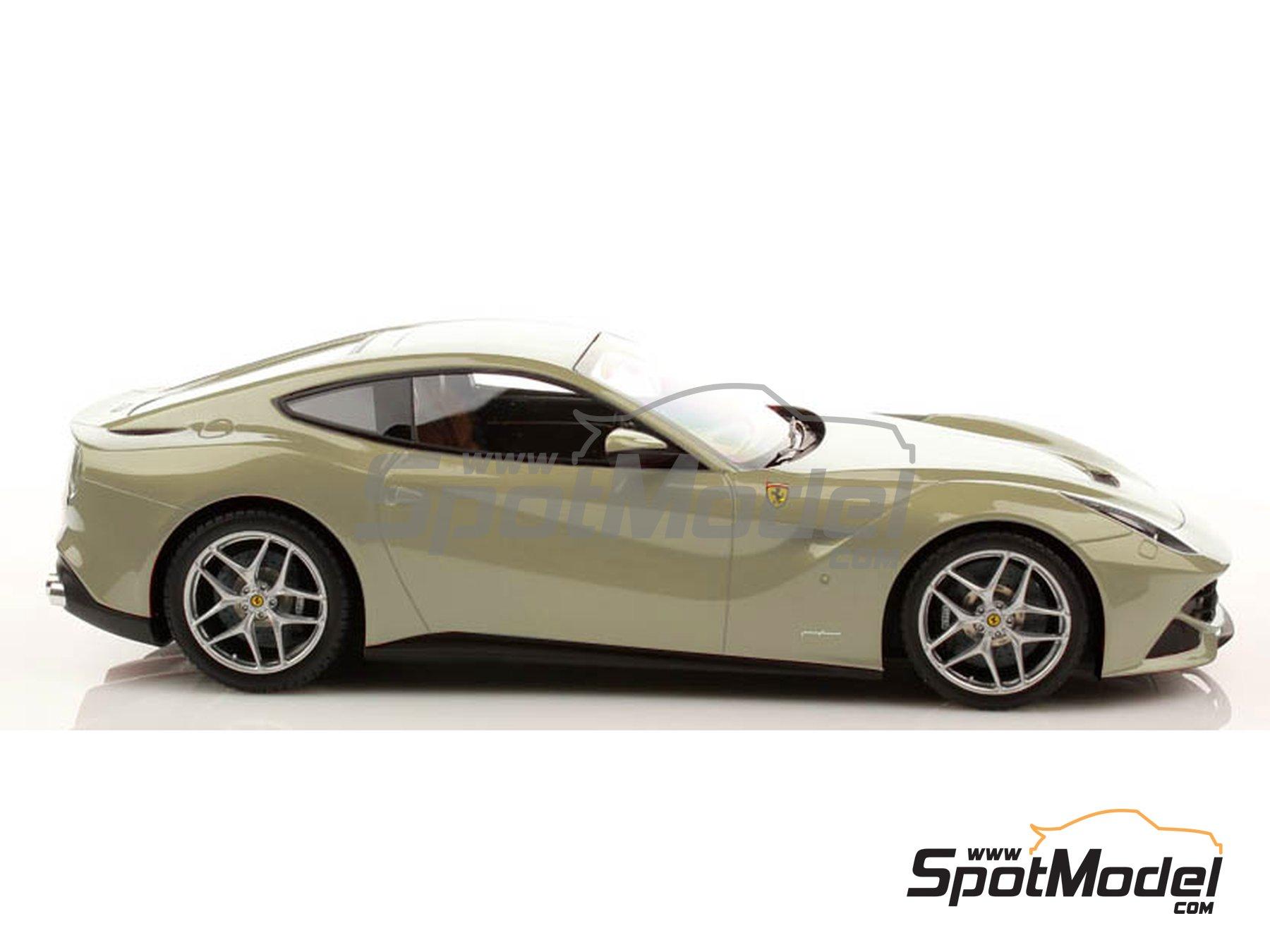 Image 2: Ferrari Grigio Ingrid Metallic Silver - Code: 720 - 1 x 60ml | Paint manufactured by Zero Paints (ref.ZP-1007-720)