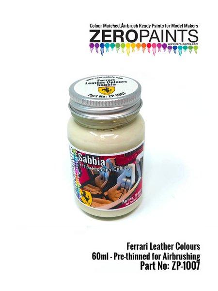 Ferrari leather colour Sabbia - 1 x 60ml | Paint manufactured by Zero Paints (ref.ZP-1007-7754-04) image