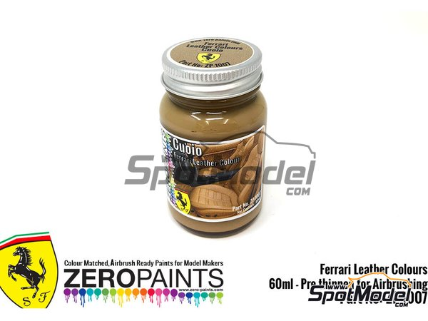 Image 1: Ferrari leather colour Cuoio - 1 x 60ml | Paint manufactured by Zero Paints (ref. ZP-1007-7754-05)