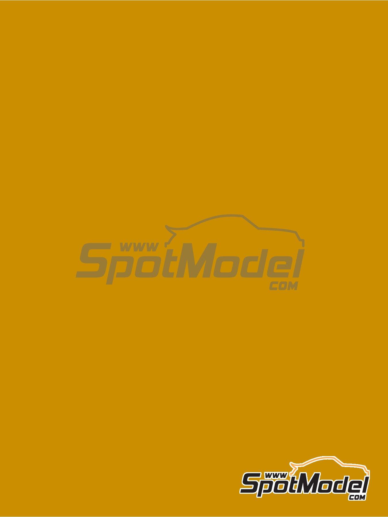 Amarillo miel - RAL1005 - Honey yellow - 1 x 60ml | Pintura fabricado por Zero Paints (ref.ZP-1033-RAL1005) image