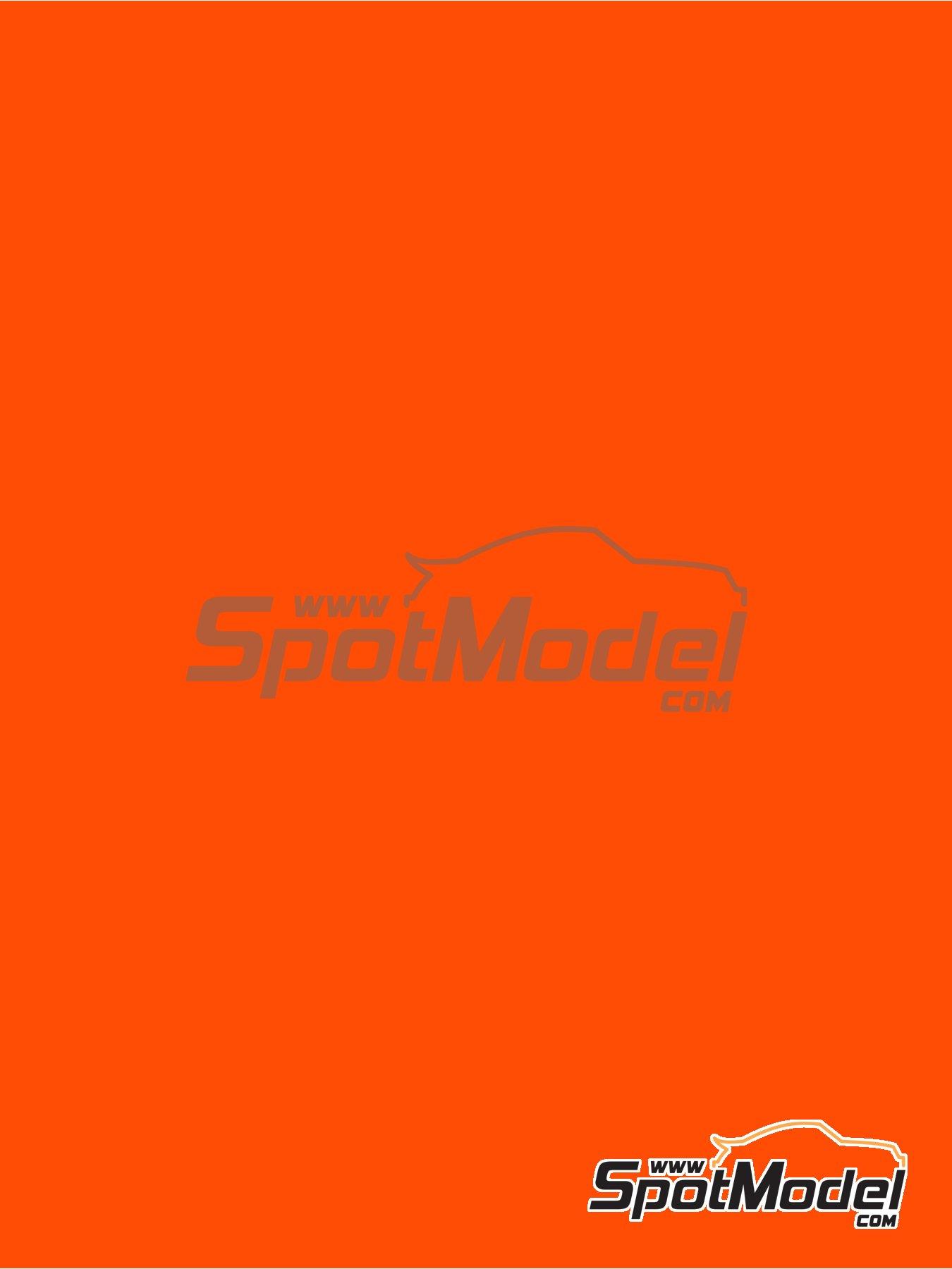 Naranja brillante - RAL2005 - Luminous orange - 1 x 60ml | Pintura fabricado por Zero Paints (ref.ZP-1033-RAL2005) image