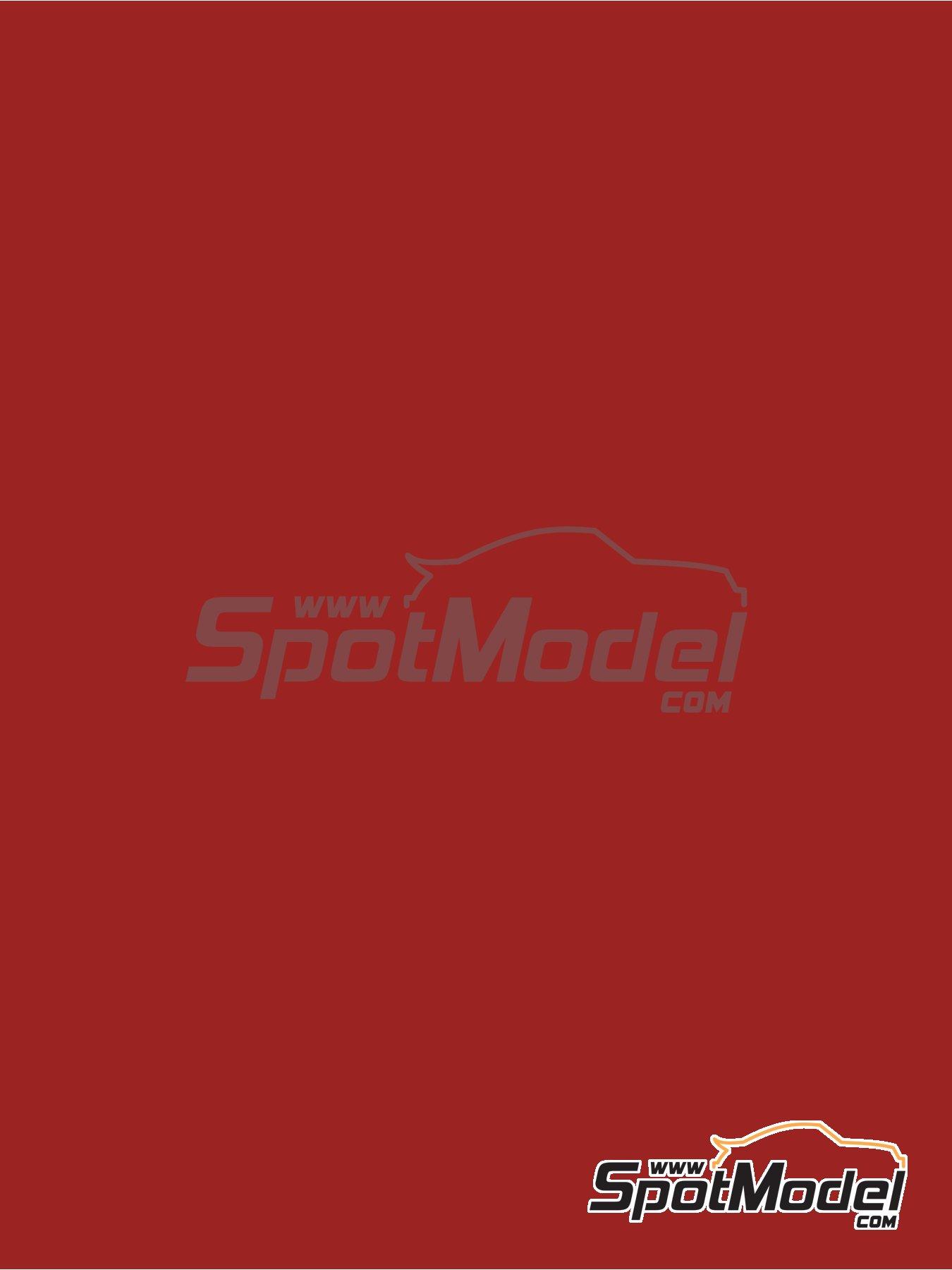 Rojo carmin - RAL3002 - Carmine red - 1 x 60ml | Pintura fabricado por Zero Paints (ref.ZP-1033-RAL3002) image
