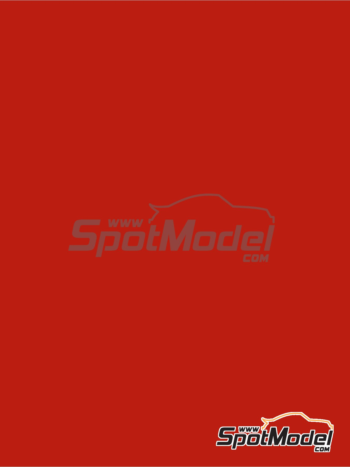 RAL3020 - Traffic red - 1 x 60ml | Paint manufactured by Zero Paints (ref.ZP-1033-RAL3020) image