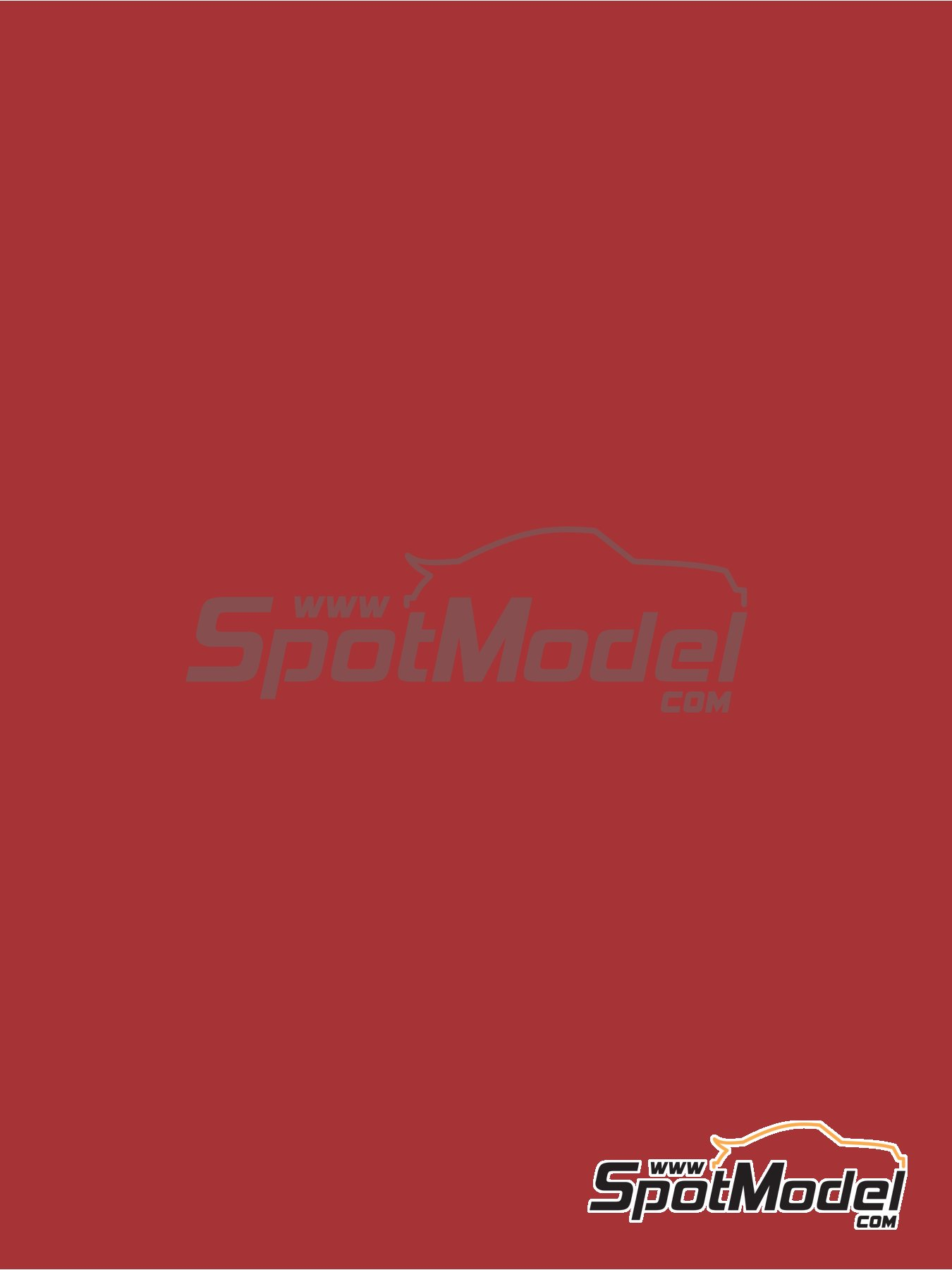 RAL3031 - Orient red - 1 x 60ml | Paint manufactured by Zero Paints (ref.ZP-1033-RAL3031) image