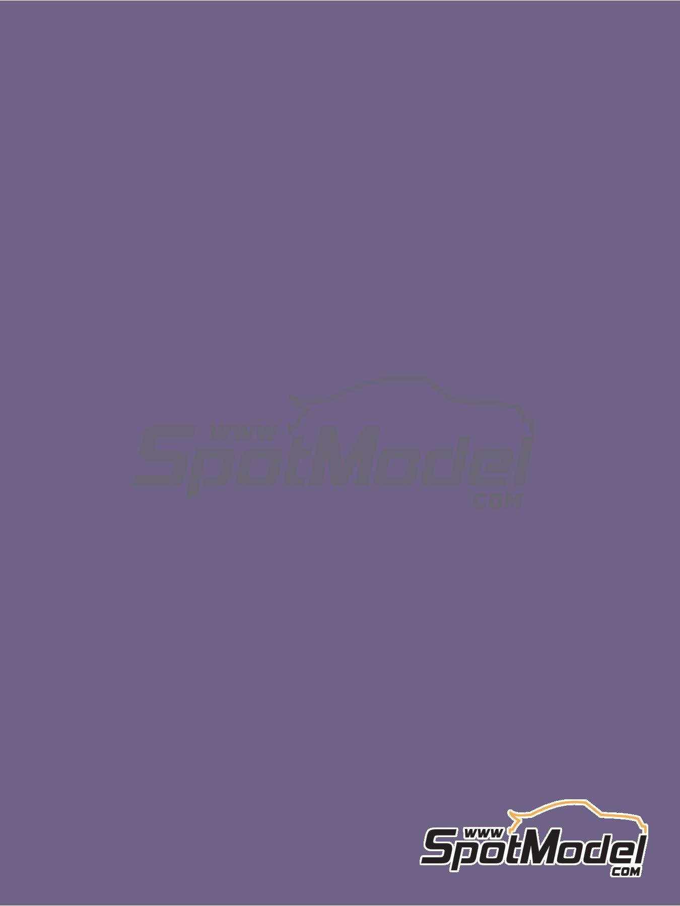 Violeta perlado - RAL4011 - Pearl violet - 1 x 60ml | Pintura fabricado por Zero Paints (ref.ZP-1033-RAL4011) image