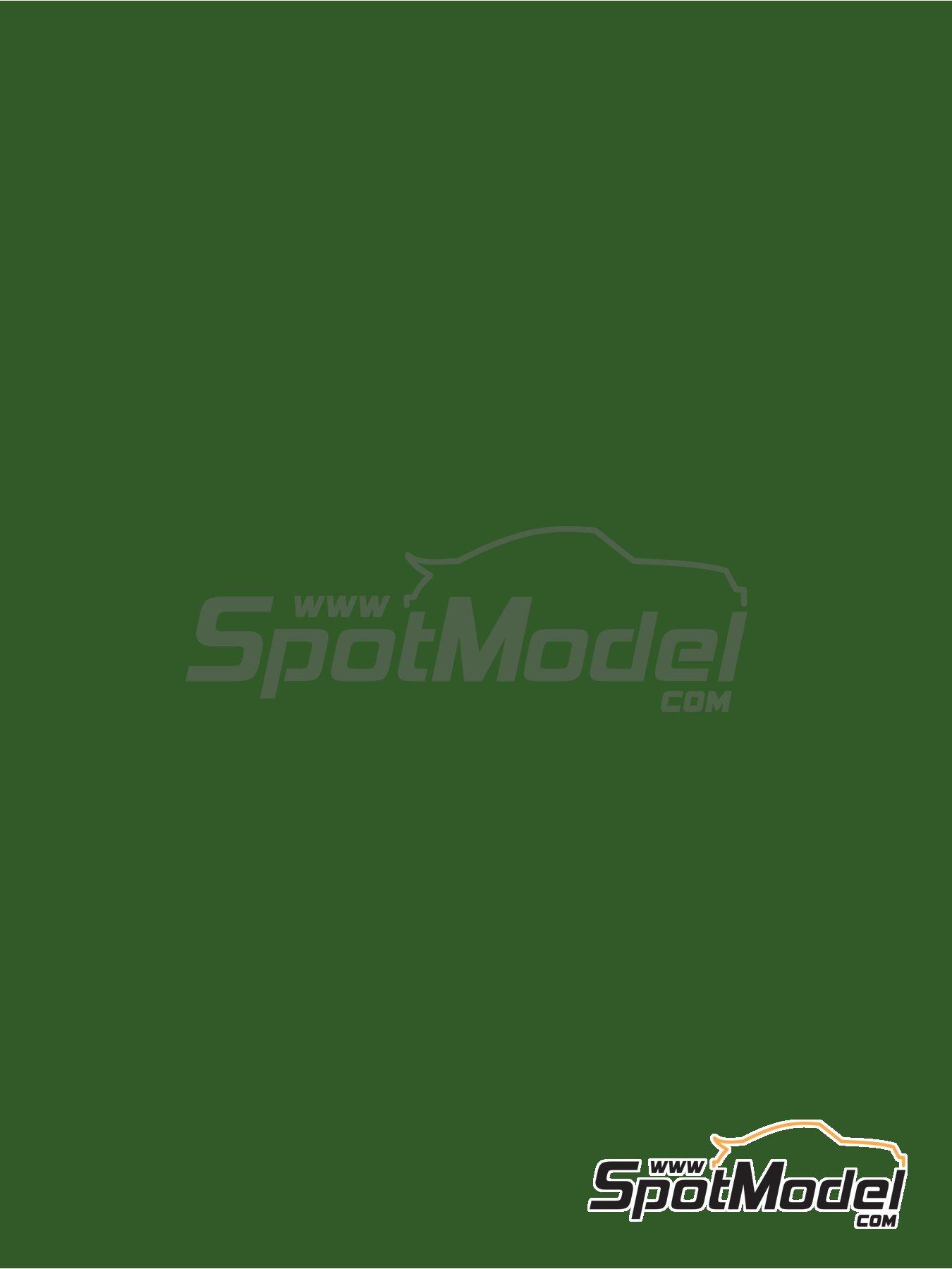 Verde hoja - RAL6002 - Leaf green - 1 x 60ml | Pintura fabricado por Zero Paints (ref.ZP-1033-RAL6002) image