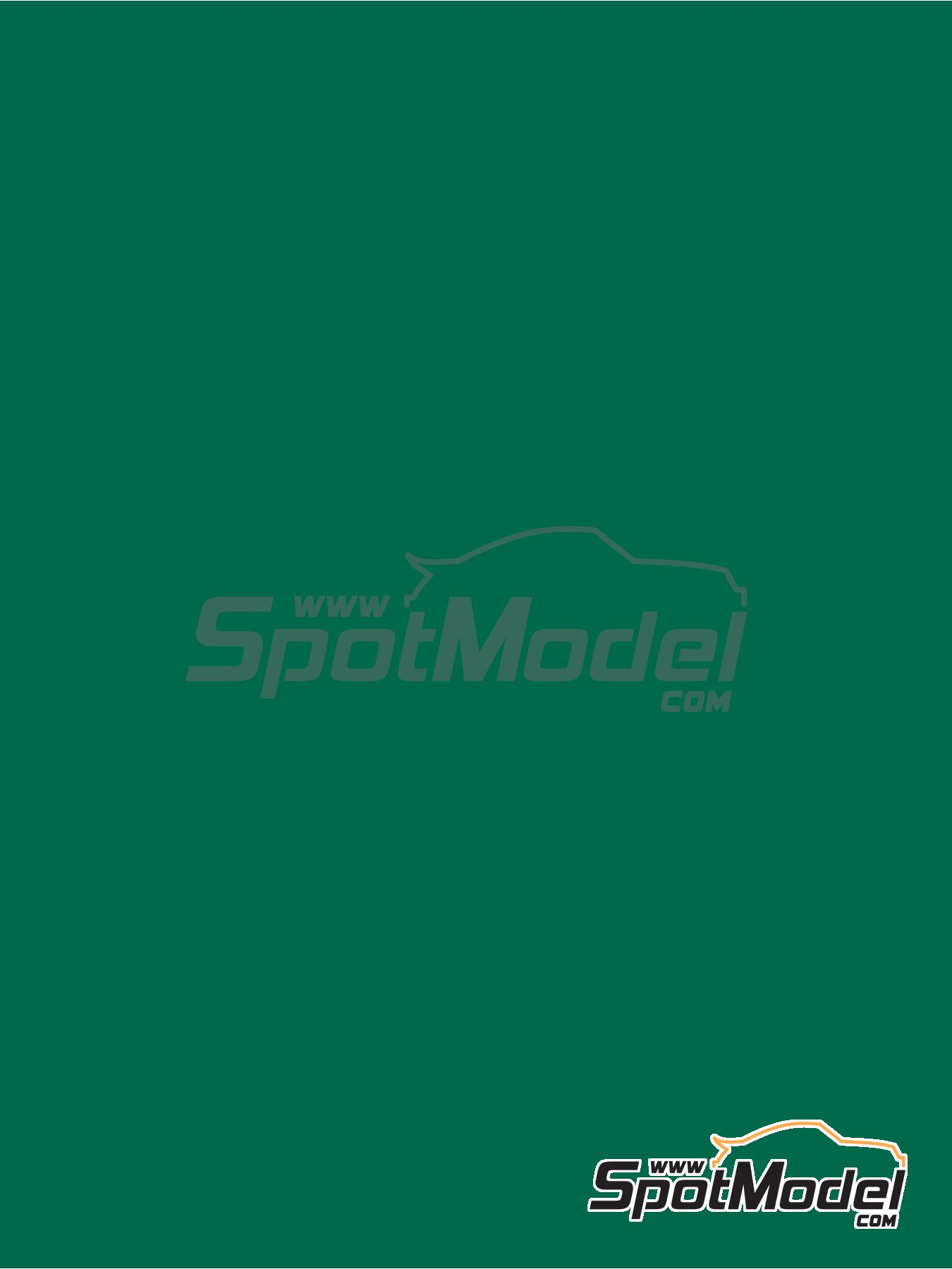 Verde turquesa - RAL6016 - Turquoise green - 1 x 60ml | Pintura fabricado por Zero Paints (ref.ZP-1033-RAL6016) image