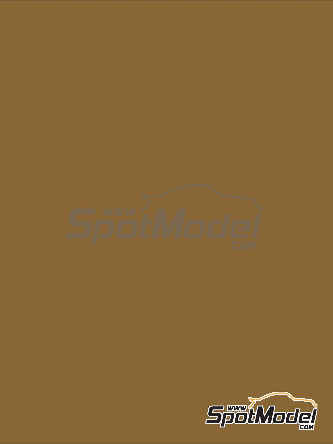 RAL8000 - Green brown - 60ml | Paint manufactured by Zero Paints (ref. ZP-1033-RAL8000) image
