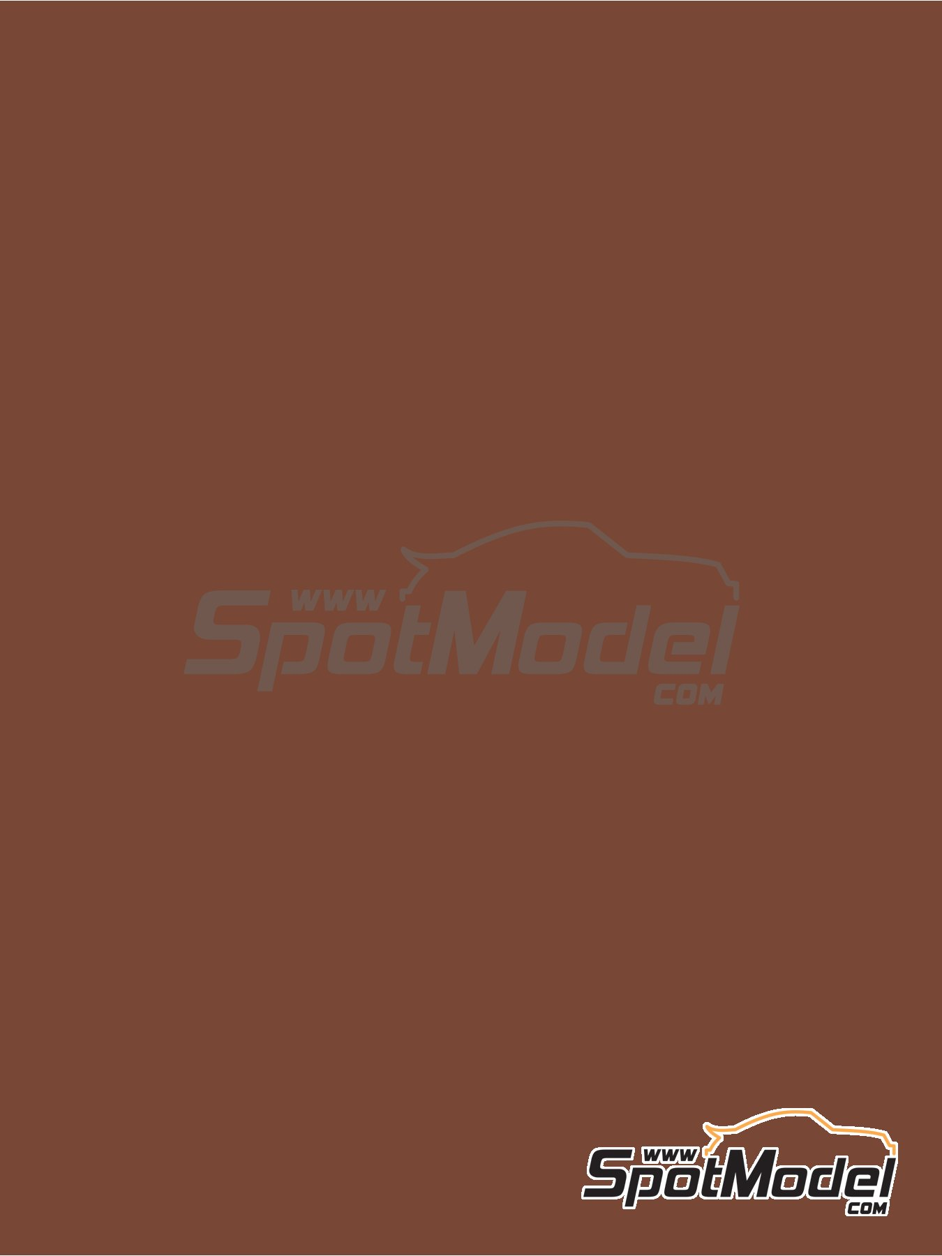 RAL8002 - Signal brown - 1 x 60ml | Paint manufactured by Zero Paints (ref.ZP-1033-RAL8002) image