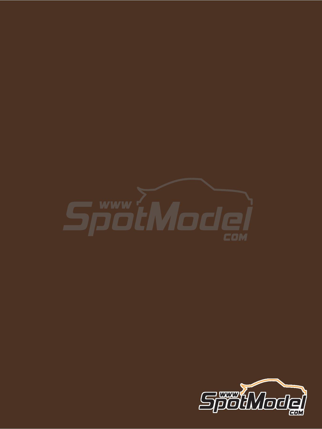 RAL8014 - Sepia brown - 1 x 60ml | Paint manufactured by Zero Paints (ref.ZP-1033-RAL8014) image