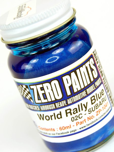 Subaru World Rally Blue 2001-2006 - Code: 02C - 1 x 60ml | Paint manufactured by Zero Paints (ref. ZP-1041-02C) image