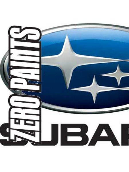 Plata Royal Subaru - Subaru Royal Silver  - Code: 792 - 1 x 60ml | Pintura fabricado por Zero Paints (ref.ZP-1041-792) image
