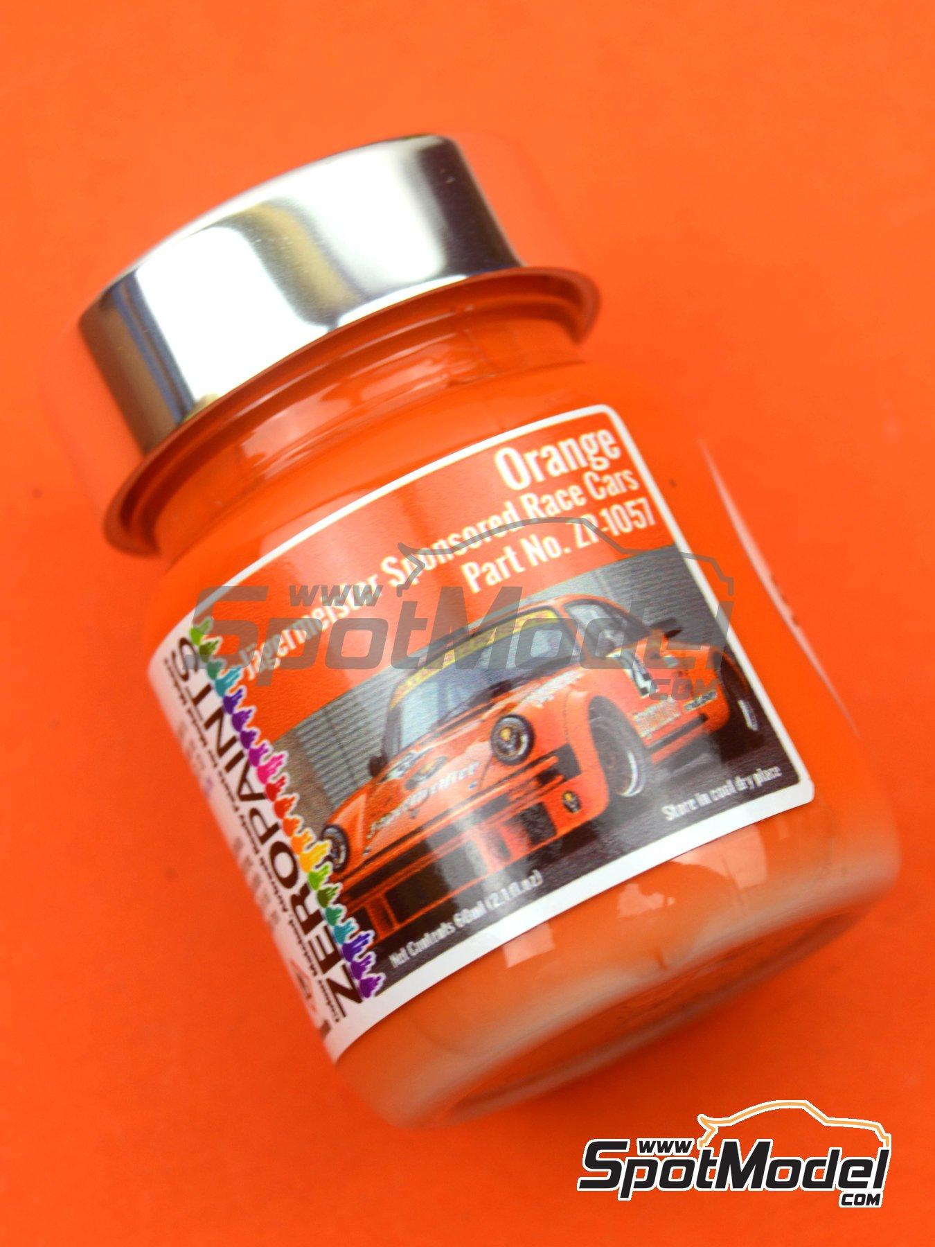 Naranja Jagermeister Orange - 1 x 60ml | Pintura fabricado por Zero Paints (ref.ZP-1057) image