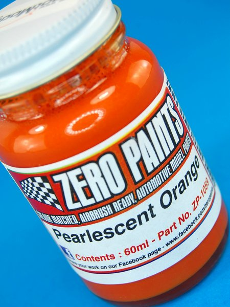 Naranja perlado - Pearlescent Orange - 1 x 60ml | Pintura fabricado por Zero Paints (ref.ZP-1059) image