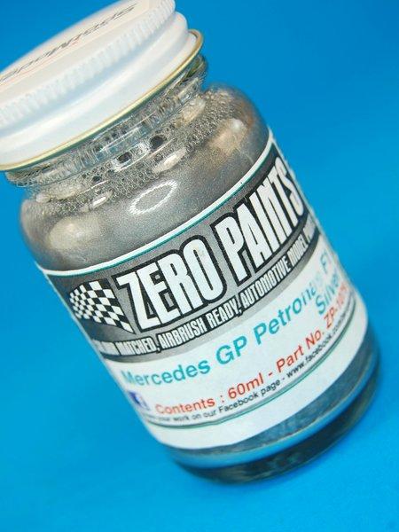 Mercedes GP Petronas Silver - Plateado - 1 x 60ml | Pintura fabricado por Zero Paints (ref.ZP-1079) image