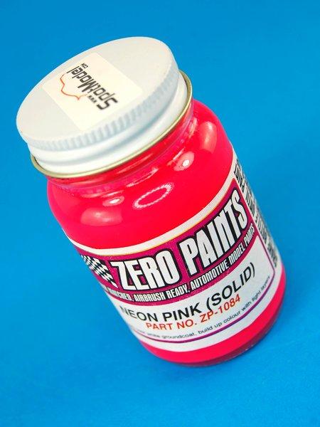Rosa fluorescente - Neon Pink Solid - 1 x 60ml | Pintura fabricado por Zero Paints (ref.ZP-1084) image