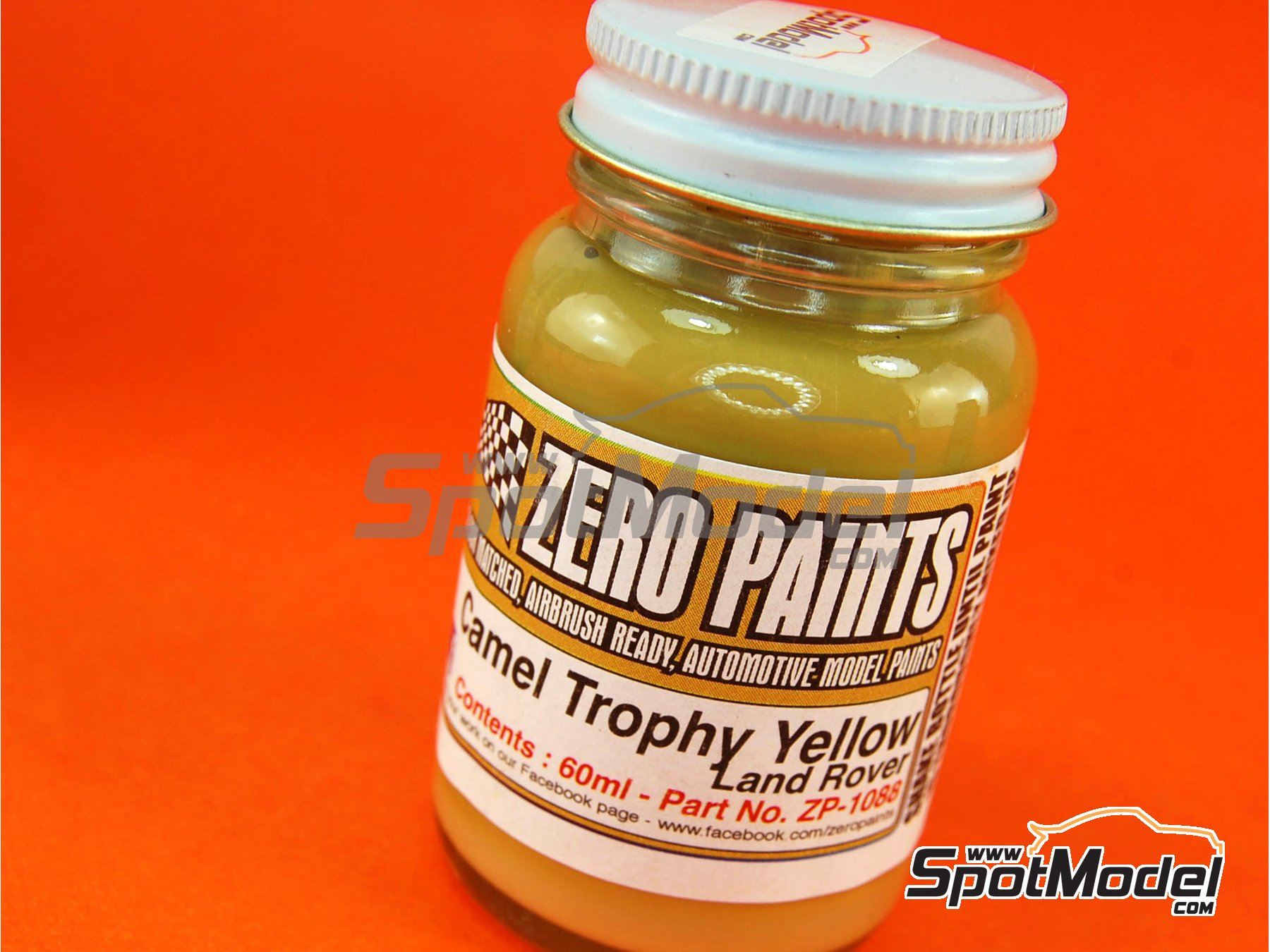 Image 1: Land Rover Camel Trophy -Yellow - 1 x 60ml | Paint manufactured by Zero Paints (ref.ZP-1088)