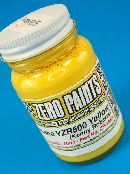 Yamaha YZR500 - Kenny Roberts - Yellow : Amarillo - 1 x 60ml   Pintura fabricado por Zero Paints (ref.ZP-1089) image