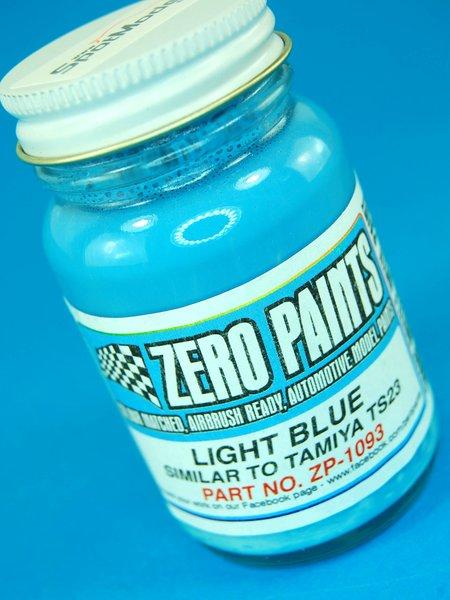 Light Blue Paint - Similar to TS-23 - 1 x 60ml   Paint manufactured by Zero Paints (ref.ZP-1093) image