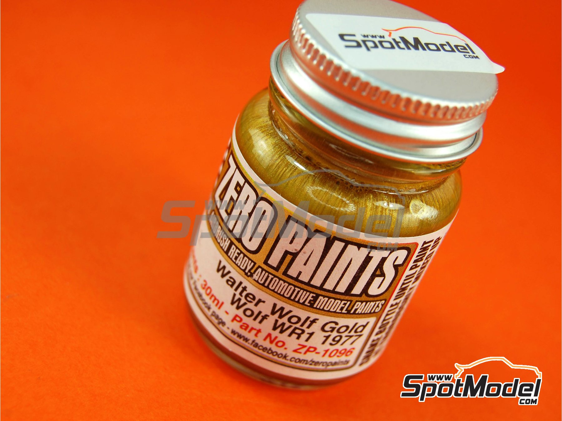 Image 1: Walter Wolf - Gold - 1 x 30ml | Paint manufactured by Zero Paints (ref.ZP-1096)