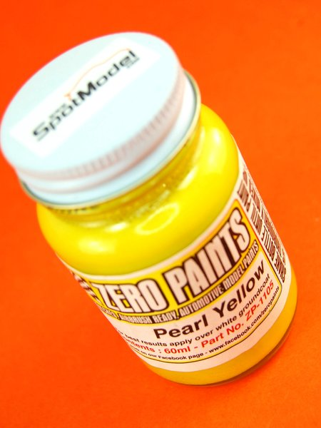 Pearl Yellow - 1 x 60ml | Paint manufactured by Zero Paints (ref.ZP-1105) image