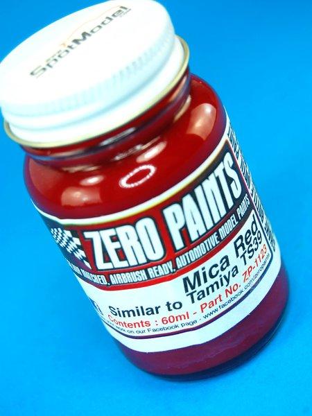Rojo mica - Mica Red Paint - Similar to TS-39 - 1 x 60ml | Pintura fabricado por Zero Paints (ref.ZP-1123) image