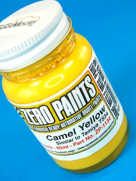 Camel Yellow - Similar to TS-34 - 1 x 60ml | Paint manufactured by Zero Paints (ref.ZP-1134) image