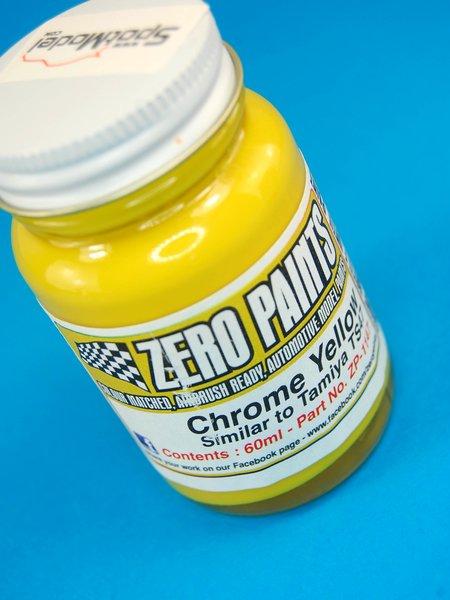 Amarillo metalizado - Chrome Yellow - Similar to TS-47 - 1 x 60ml | Pintura fabricado por Zero Paints (ref.ZP-1147) image