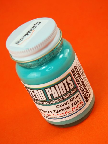 Coral Blue - Similar to TS-41 - 1 x 60ml   Paint manufactured by Zero Paints (ref.ZP-1159) image