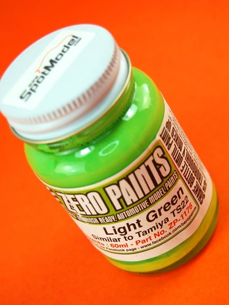 Light Green - Similar to TS-22 - 1 x 60ml | Paint manufactured by Zero Paints (ref. ZP-1176) image