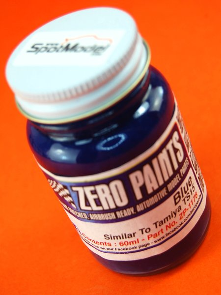 Blue - Similar to TS-15 - 1 x 60ml | Paint manufactured by Zero Paints (ref.ZP-1178) image
