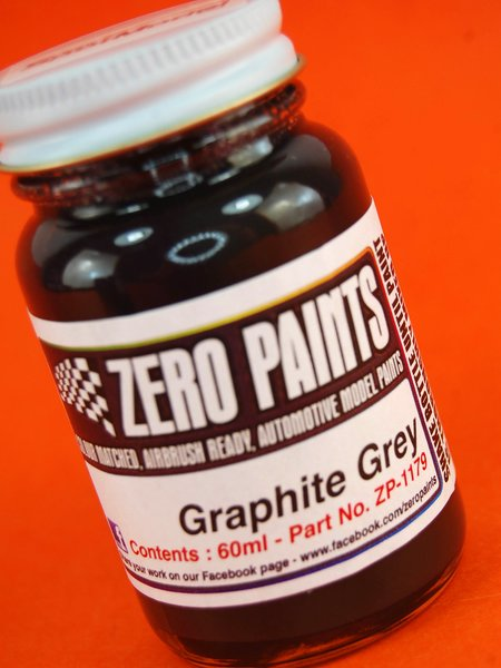 Graphite Grey - 1 x 60ml | Paint manufactured by Zero Paints (ref.ZP-1179) image