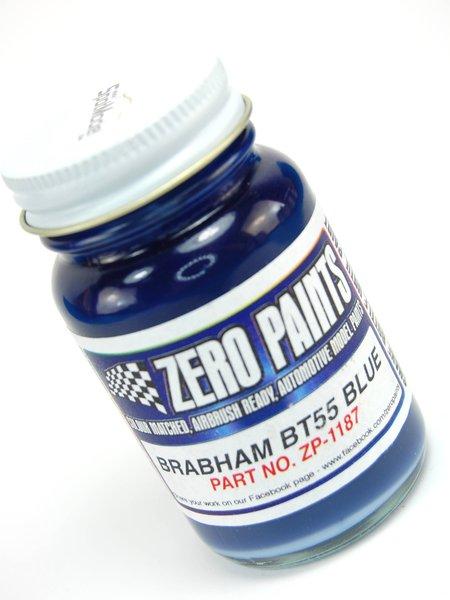 Brabham BT55 Dark Blue - Azul Oscuro Parmalat - 1 x 60ml | Pintura fabricado por Zero Paints (ref.ZP-1187) image