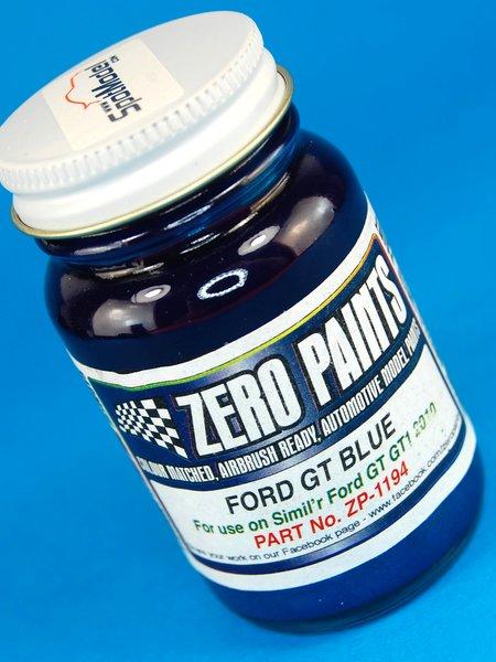 Azul Ford GT GT1 2010 Pescarolo - Blue - 1 x 60ml   Pintura fabricado por Zero Paints (ref.ZP-1194) image