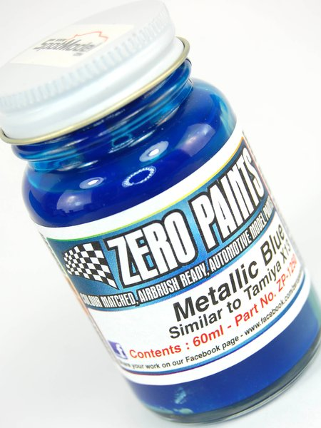 Metallic Blue - Similar a X-13 - 1 x 60ml | Pintura fabricado por Zero Paints (ref. ZP-1250) image