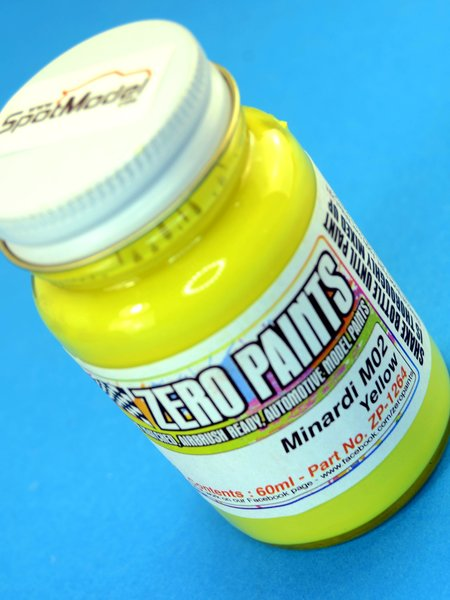 Minardi M02 Yellow - 1 x 60ml | Paint manufactured by Zero Paints (ref. ZP-1264) image