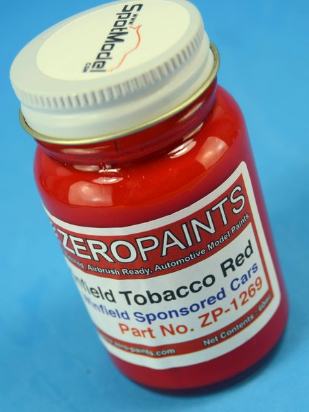 Winfield Tobacco  - Red - 1 x 60ml | Paint manufactured by Zero Paints (ref.ZP-1269) image