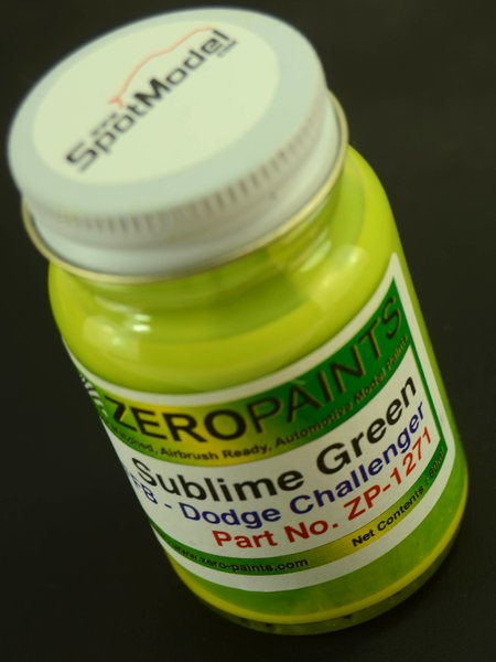 Verde perlado Dodge Sublime - Pearl Green - 1 x 60ml | Pintura fabricado por Zero Paints (ref. ZP-1271) image