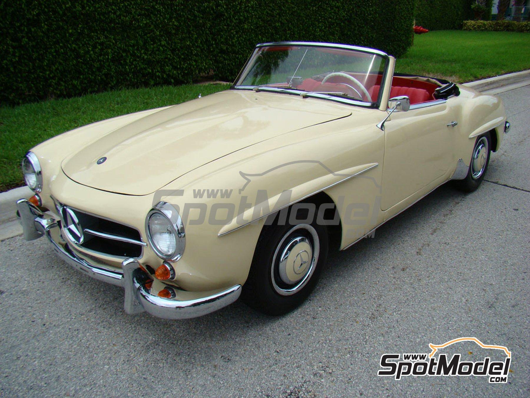 Image 1: Ivory Elfenbein for Mercedes-Benz 300SL - Codigo: DB608 - 1 x 60ml | Paint manufactured by Zero Paints (ref.ZP-1296-DB608)